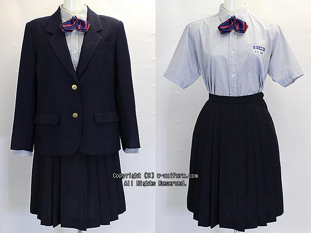北押原中学校の制服(冬)