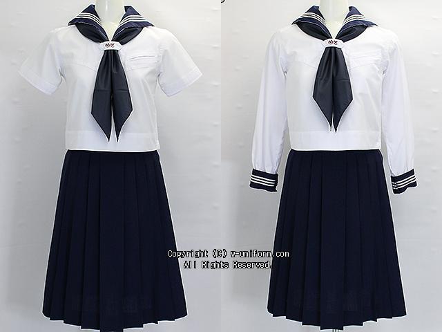 大妻中学校の制服(夏・中間)