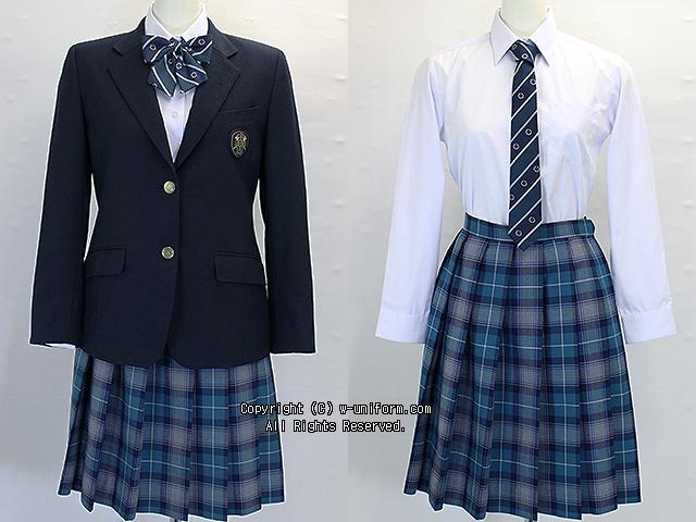 立正大学付属立正高校の制服(冬)