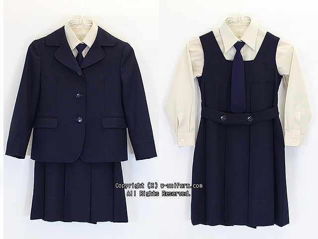 清泉小学校の制服(冬)