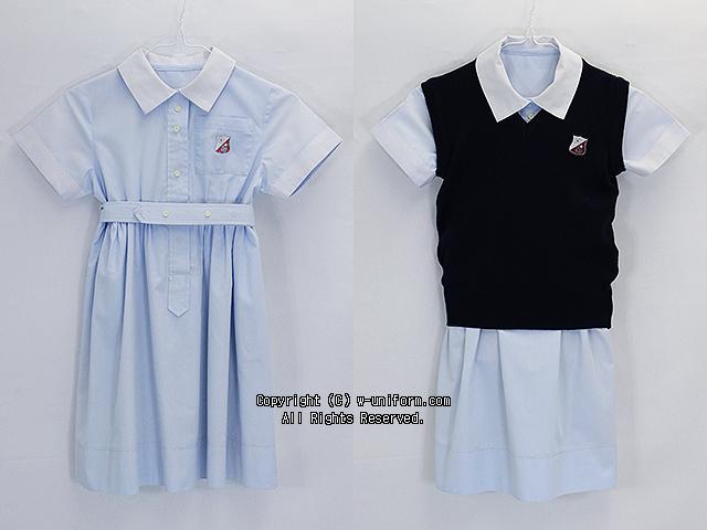 清泉小学校の制服(夏)