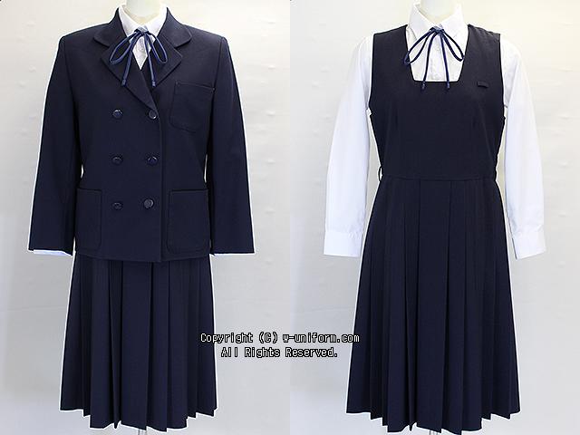 学校名不明ブレザー服セット(中間)