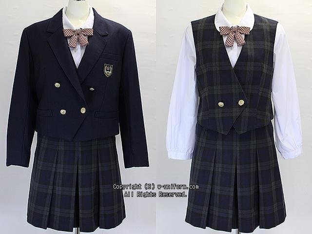 淑徳高校の制服(冬)旧