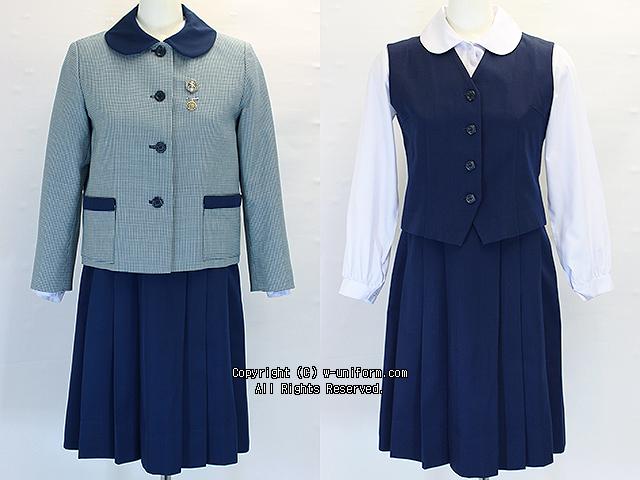聖心女子学院の制服(冬・夏)