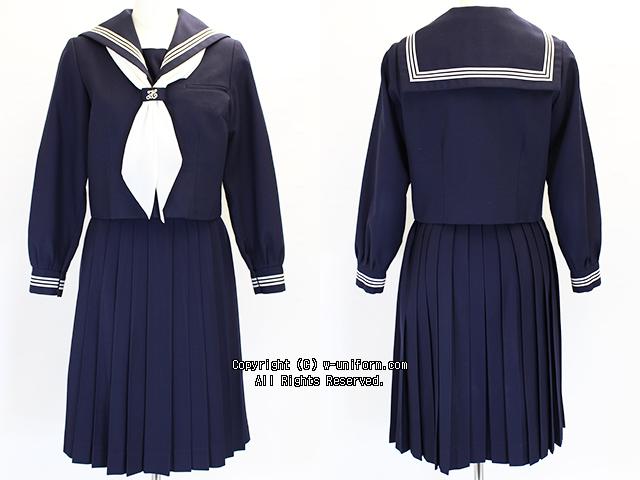中野区立第六中学校の制服(冬)
