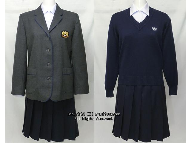暁星国際高校制服(冬・中間)