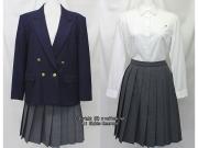 学校名不明ブレザー服セット(冬)
