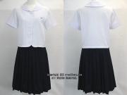横浜山手女子中学・高校の制服(夏)旧