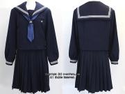 我孫子市立湖北台中学校の制服(冬)