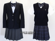 不二女子高校の制服(冬・夏)