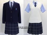 栃木県立鹿沼商工高校の制服(冬・夏)
