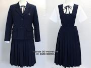 和洋九段女子高校の制服(冬・中間)旧
