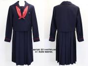 ルーテル学院の制服(冬)