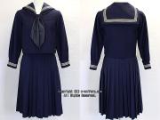 大妻中学校の制服(冬)