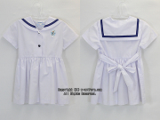 石川学園杉之子幼稚園の制服(夏)