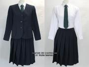 いすみ市立大原中学校の制服(冬)