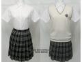 沖学園高校の制服