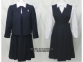 大阪信愛女学院高校の制服