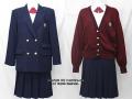 福島成蹊高校の制服