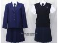 京都女子高校の制服(冬・夏)