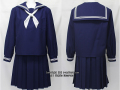 京都女子中学校の制服(冬)