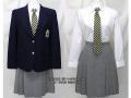 中京大学附属中京高校の制服(冬)