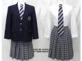 コロンビアインターナショナルスクールの制服(冬)