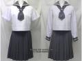 日本大学櫻丘高校の制服(夏・中間)