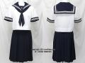 成徳学園高校の制服(夏)