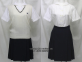 明誠学院高校の制服(夏)