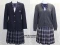 日出高校の制服(冬・中間)