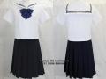 佼成学園女子中学校の制服(夏)