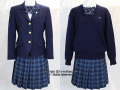 敬愛学園高校の制服(冬)