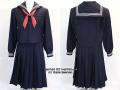 市立川越高校の制服(冬)