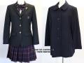 秋草学園高校の制服(冬)