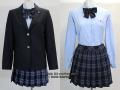 横浜学園高校の制服(冬)