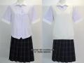 横浜学園高校の制服(夏)