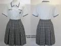 目黒星美学園の制服(夏)旧