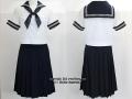 豊島岡女子学園高校の制服(夏)