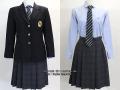 朋優学院高校の制服(冬)