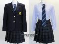 成立学園高校の制服(冬)
