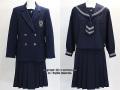 盛岡白百合学園の制服(冬)