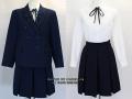 東京家政大学附属女子の制服(冬)旧