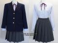 愛国高校の制服(冬)