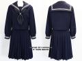 江戸川区立上一色中学校の制服(冬)