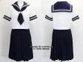 江戸川区立上一色中学校の制服(夏)