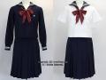 実践女子学園中学校の制服(冬・夏)