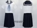 大妻中野中学校の制服(夏)