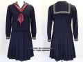 女子聖学院中学校の制服(冬)