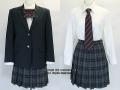 武蔵丘高校の制服(冬)